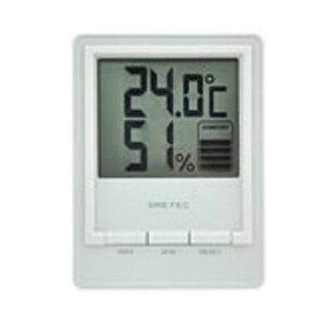 【メール便可】 ドリテック デジタル温湿度計 スタシス 卓上スタンド・壁掛け用フック穴付 O-233WT DRETEC 在庫限り