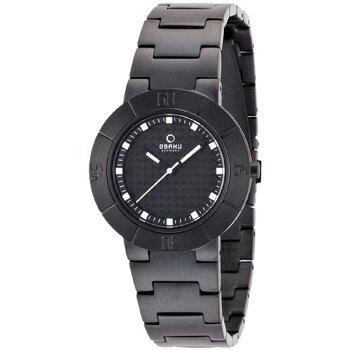 在庫限り OBAKU「オバック」  女性用腕時計 レディースウォッチ 5気圧防水 V140LBBSB