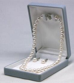 パール ネックレスケース 送料無料(沖縄・離島を除く) プレゼントやネックレス保存に 宝石箱 ジュエリー ケース 箱 ギフト プレゼント ボックス 真珠