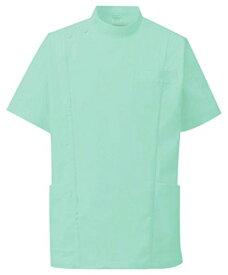 KAZEN(カゼン) メンズジャケット半袖 253-22(ミントグリーン) 5L