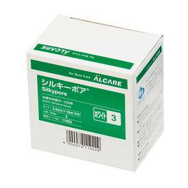 シルキーポア(3号) 11922(12カンイリ)ホワイト 1箱 アルケア 23-6164-01