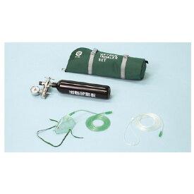 携帯用酸素吸入器(デラックスタイプ)酸素なし OX-100DX 1組 ブルークロス・エマージェンシー 01-5561-0002