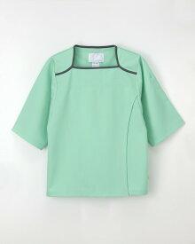 ナガイレーベン 検診衣上衣 FK-1466 サイズLL グリーン