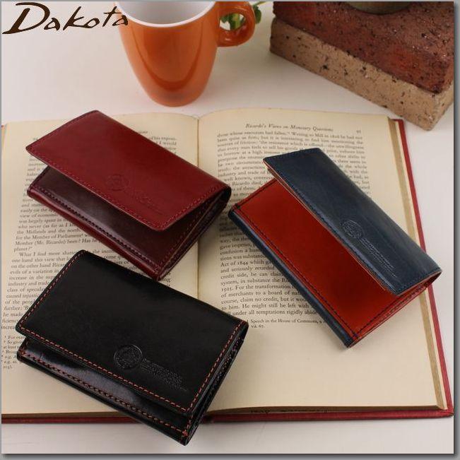 ダコタ 財布 DAKOTA 財布 革製 ブラックレーベル ステファノ 名刺入れ 0623908 0625008