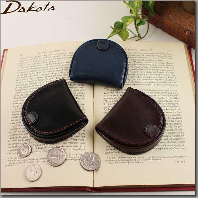 ダコタ 財布 DAKOTA 財布 革製 メンズ財布 ブラックレーベル ステファノ コインケース 馬蹄型小銭入れ0625006父の日