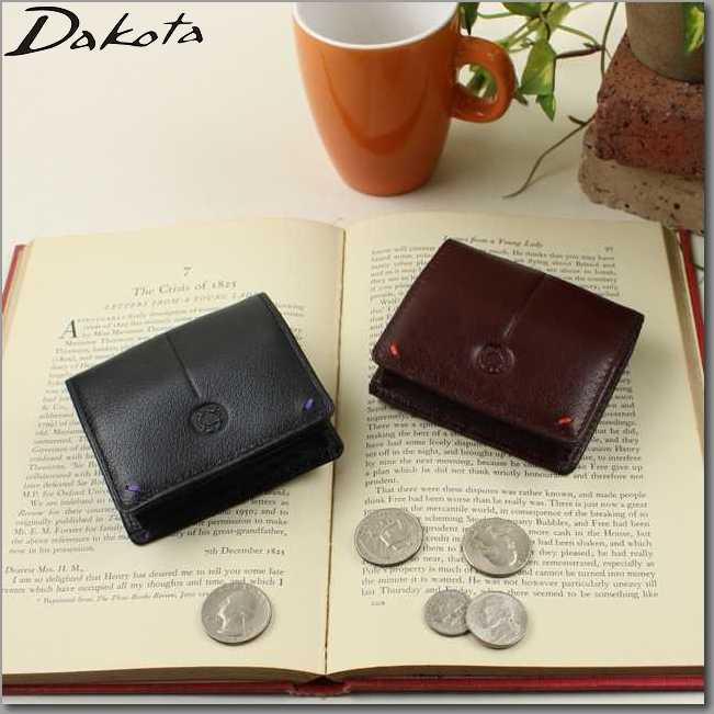 ダコタ 財布 DAKOTA 財布 革製バッファロー メンズ財布 ブラックレーベル コインケース 四方口小銭入れ0625607父の日