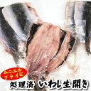 真いわし生開き(冷凍)3パック×100g以上(山陰沖産)(真イワシ、真鰯、鰯、イワシ)