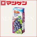 濃縮還元グレープジュース 100% ドール 雪印メグミルク 200mL×18