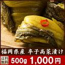 辛子高菜漬け 江崎 500g(250g×2袋)