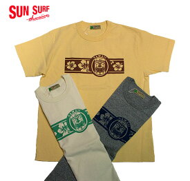 "SUN SURFCREW NECK T-SHIRT""TIKI""Style No.SS78232"