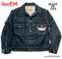 SUGAR CANE13oz DEAD STOCK DENIMDENIM JACKET,US1953Style No.SC14500