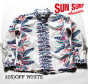"""SUN SURF サンサーフ COTTON L/S FLANNEL""""BIRD OF PARADISE"""" Style No.SS27706"""