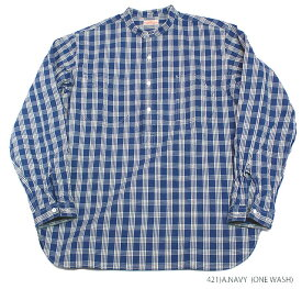 "実名復刻UNION SUPPLY""PALAKA CHECK PULLOVER SHIRT""Style No.US27124"
