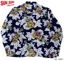 """SUN SURFRAYON L/S""""UKULELE MELODY""""Style No.SS28019"""