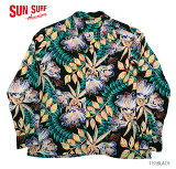 "MAUNAKEAGALLERIES×SUNSURFRAYONL/Sアロハシャツ""SWEETLEILANI""StyleNo.SS37780MGLS"