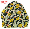 "SUN SURF×別注RAYON L/S""BANANA LEAVES & FLOWERS""Style No.SS25756"