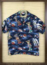 "SUN SURF サンサーフ RAYON S/S SPECIAL EDITION HOALOHA""THE DAYS OF SPACE ROBOT"" Style No.SS37257"