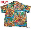 "SUN SURF サンサーフ RAYON S/S SPECIAL EDITION WATUMULL'S and LEILANI""HOOLAULEA"" Style No.SS36658"