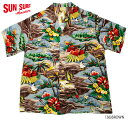 """SUN SURF サンサーフ アロハシャツRAYON S/S SPECIAL EDITION HALE HAWAII""""SURF ISLAND STYLE"""" Style No.SS35842"""