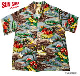 "SUNSURFサンサーフアロハシャツRAYONS/SSPECIALEDITIONHALEHAWAII""SURFISLANDSTYLE""StyleNo.SS35842"