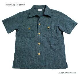 "実名復刻ALOHA BY KING SMITH""9oz MANSUJI WORK BLOUSE"" Style No.SS38082"