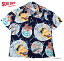"""SUN SURF サンサーフ アロハシャツSPECIAL EDITIONRAYON S/S""""Demon On Japan Beauty""""Style No.SS38105"""