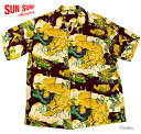 """SUN SURF サンサーフ アロハシャツRAYON S/S SPECIAL EDITION HALE HAWAII""""MATSON LINE"""" Style No.SS33564"""