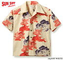 "SUN SURFSPECIAL EDITIONCOTTON S/S ""唐獅子牡丹 KARAJISHI BOTAN""Style No.SS38550"