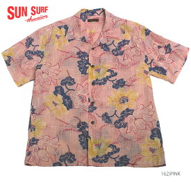 "SUN SURFサンサーフ アロハシャツCOTTON & LINEN S/S OPEN SHIRT""PARADISE FLOWERS""Style No.SS38110"