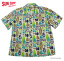 """SUN SURF by Masked Marvelサンサーフ アロハシャツCOTTON OPEN SHIRT""""PINEAPPLE BOY""""Style No.SS38148"""