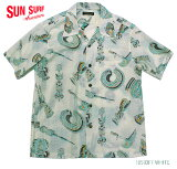 "SUNSURFサンサーフアロハシャツCOTTON&LINENS/SOPENSHIRT""NATIVEMASKS""StyleNo.SS38410"