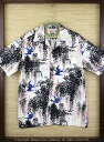 """SUN SURFRAYON S/S""""SWALLOW UNDER WISTERIA""""Style No.SS36013"""