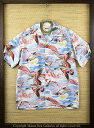 """SUN SURFRAYON S/S""""FLOCK OF WILD GEESE""""Style No.SS37144"""