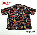 "SUN SURFRAYON S/S""HAWAII CALLS""Style No.SS37474"