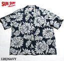 "SUN SURF サンサーフ アロハシャツRAYON S/S""FLASHING KING PROTEA""Style No.SS37776"