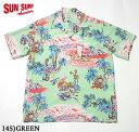 "SUN SURF サンサーフ アロハシャツRAYON S/S""ISLAND CHRONICLE""Style No.SS37781"