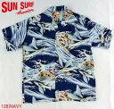 "SUN SURF サンサーフ アロハシャツRAYON S/S ""MALOLO""Style No.SS36829"