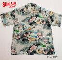 "SUN SURFRAYON S/S""HAUOLI MANAWA""Style No.SS37151"