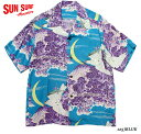 "SUN SURFRAYON S/S""FALCON & ALOHA MOON""Style No.SS33330"