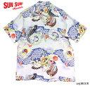 "SUN SURFRAYON S/S""KOI KABUTO""Style No.SS31607"