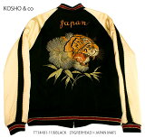 "港商KOSHO&CO.TAILORTOYOテーラー東洋ACETATESOUVENIRJACKETSPECIALEDITION""TigerHead&EaglePrint""No.TT14074"