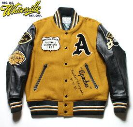 """WHITESVILLE ホワイツビルスタジャン アワードジャケット30oz. Wool Melton Award Jacket""""APACHES""""No.WV14214"""