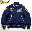 """WHITESVILLE × UCLAホワイツビル スタジャン30oz. All Melton Award Jacket Collaboration Model""""UCLA""""No.WV14220"""