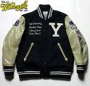 """WHITESVILLE × YALEホワイツビル イェール大学30oz. Wool Melton Award Jacket Collaboration Model""""YALE""""No.WV14219"""