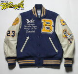 "WHITESVILLE×UCLAスタジャンアワードジャケット30oz.WoolMeltonAwardJacket""UCLA""No.WV14218"