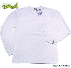 WHITESVILLEホワイツビルL/S POCKET T-SHIRTSStyle No.WV68849
