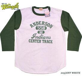 "WHITESVILLEホワイツビルBASEBALL T-SHIRTS""ANDERSON 558""Style No.WV68822"
