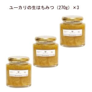 はちみつ イスラエル産 「ユーカリの生はちみつ270g×3」ユーカリから採られた混ぜ物なし、完全非加熱の生はちみつです。