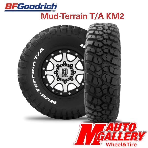 BF Goodrich グッドリッチ Mud-Terrain T/A KM2 LT305/70R16 118/115Q LRD RWL ホワイトレター 【代引不可】 2本以上送料無料