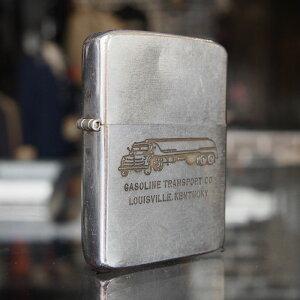 【メール便配送】 1950〜1960年代製 ビンテージ オイルライター(GASOLINE TRANSPORT CO.)ジッポー zippo 【楽ギフ_包装】【楽ギフ_メッセ】 送料無料